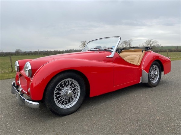 Large image for the Triumph TR2