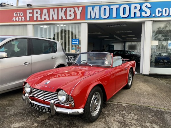 Large image for the Triumph TR4