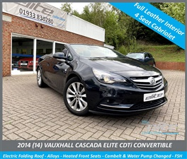 Large image for the Used Vauxhall CASCADA
