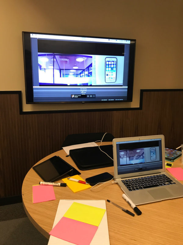 Design Sprint- testing session