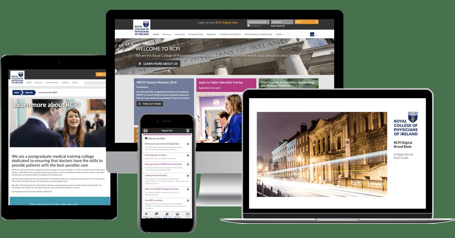 RCPI Website and App