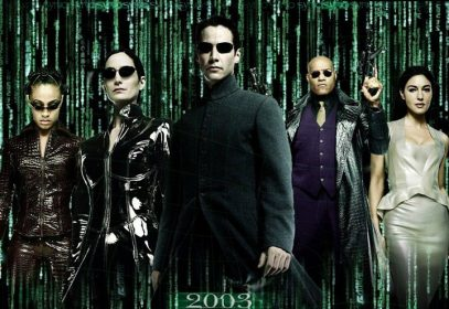 Photo of the 2003 movie the Matrix Reloaded