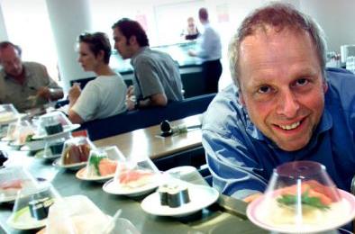 Photo Of Simon Woodroffe founder of YO! Sushi