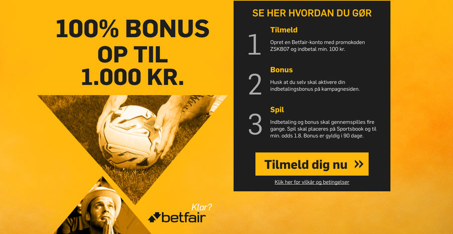 Betfair odds bonus