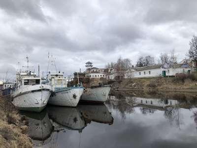 Корабли на зимовке @dmitry_serdyk