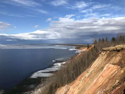 Крутые берега Онежского озера  @dmitry_serdyk