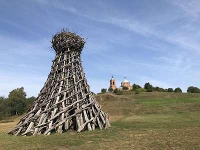 Калужская область. Никола-Ленивец - музей современного искусства под открытым небом @dmitry_serdyk