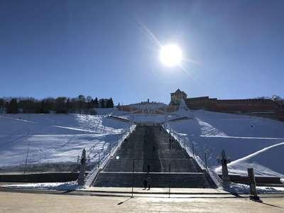 Все 440 ступеней Чкаловской лестницы @dmitry_serdyk