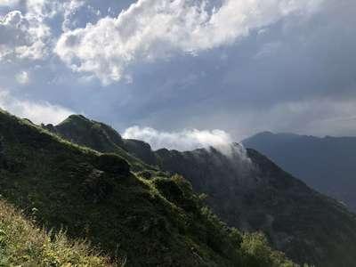 Погода в горах южного кавказа переменчива и капризна @dmitry_serdyk
