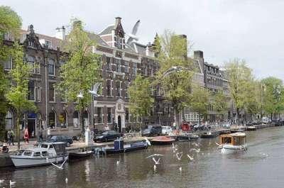 Амстердам. Апрель