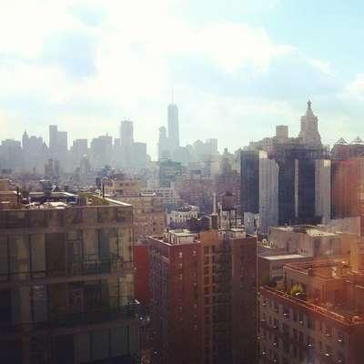 Нью-Йорк в октябре.