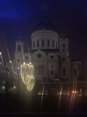 Храм Христа Спасителя, Москва 2018