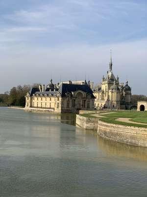 The Domaine De Chantilly замок под Парижем