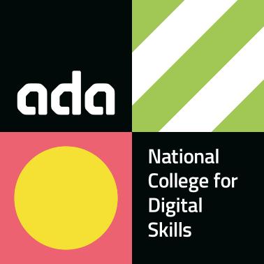 Ada national college for digital skills logo