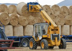 Straw prices up £45/t as pressure builds on supplies