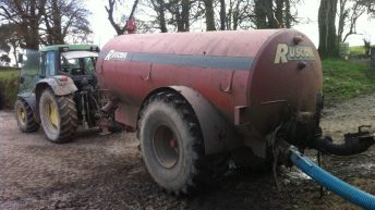 How to plan safe slurry agitating and spreading