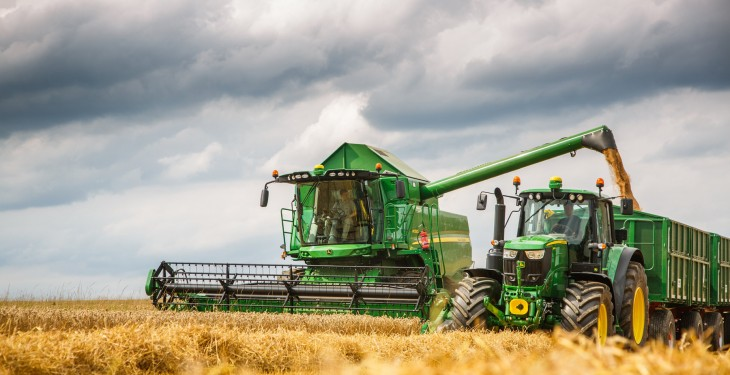Stricter emission limits for agricultural machinery become law