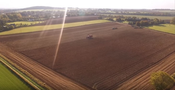 Video: The potato harvest came to an end in Kildare recently