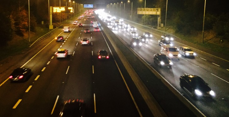 Loose cattle have closed the M3 in both directions this morning