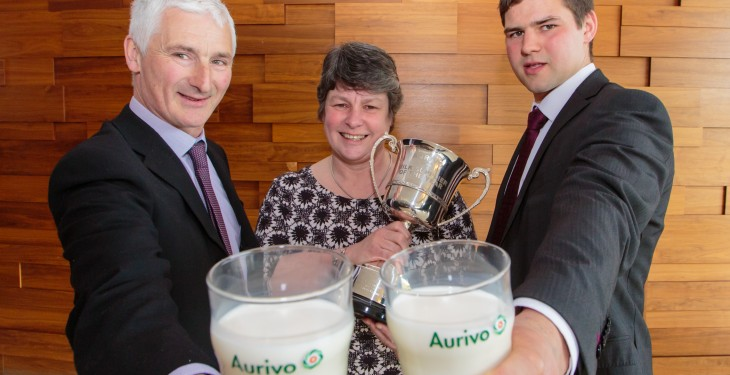Dairy farming excellence recognised at Aurivo Milk Quality Awards