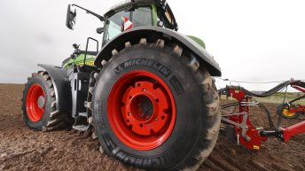 Just what tyre do you fit to a tractor of this stature?