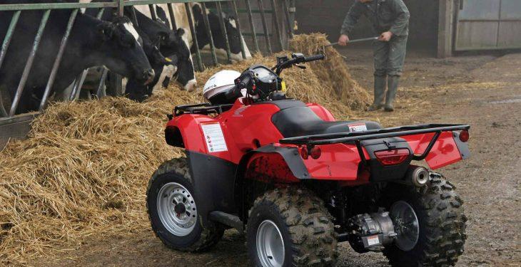 NFU Cymru sounds security warning to farmers after quad bike thefts
