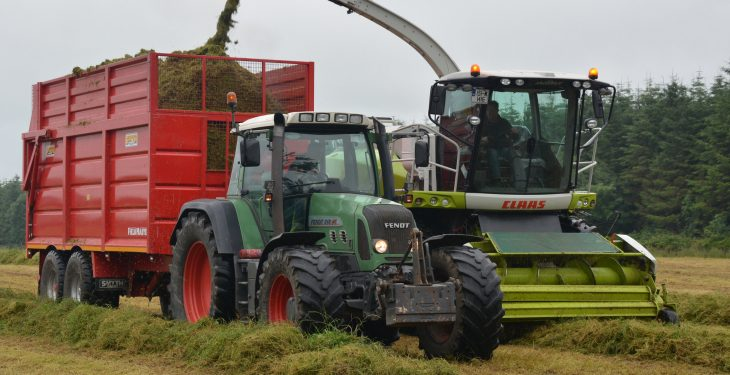 What is being charged for pit and baled silage in 2017?