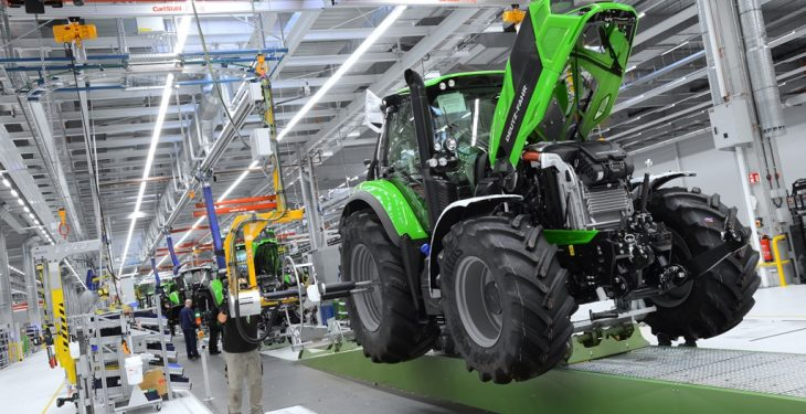 Pics: A new Deutz-Fahr tractor off the line every 12 minutes