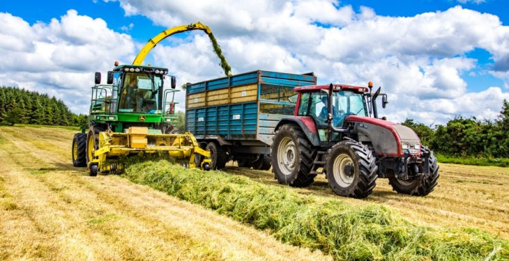 Survey results: 25% of people see contracting as a route into agriculture