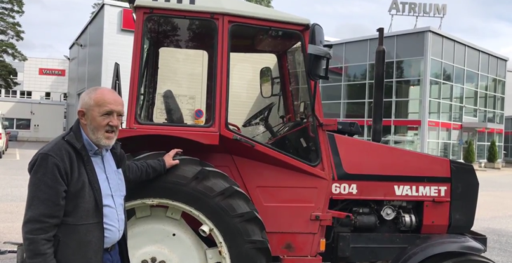 Embarking on a road-trip in an old-school Valmet