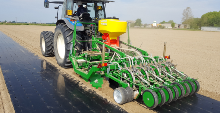 Punch and go: Samco unwraps latest seeder at the 'Ploughing'