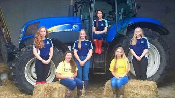 Meet the Young Farmers' girls chopping their locks for children's wigs