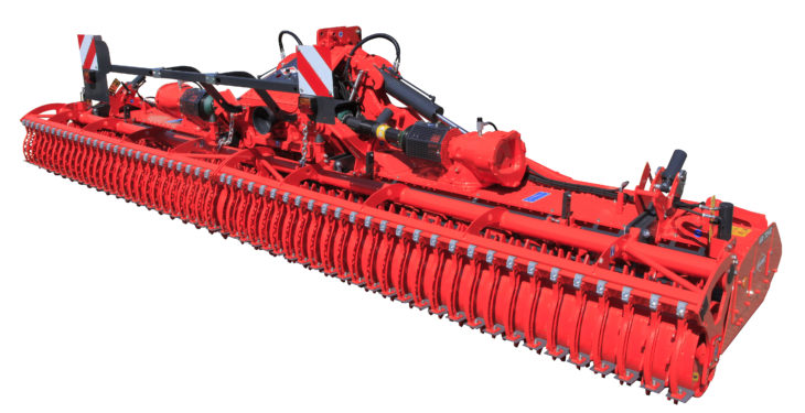 Clever 7m goliath from Kuhn monitors oil and clutches for you