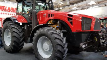 Prototype: Belarus unleashes a brute at Agritechnica 2017