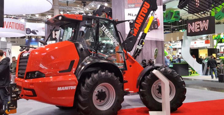 Pics: Up close with Manitou's new, pivot-steer telehandler