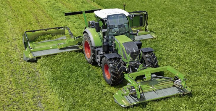 Fancy a Fendt mower? Why not a whole silage outfit?