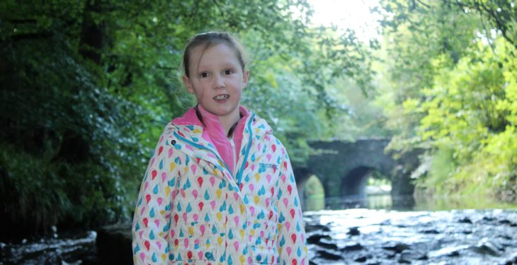 Brave farm girl Grace inspires marts to drop the hammer for charity