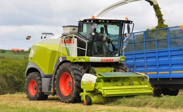 Check out these 2018 improvements for Claas foragers