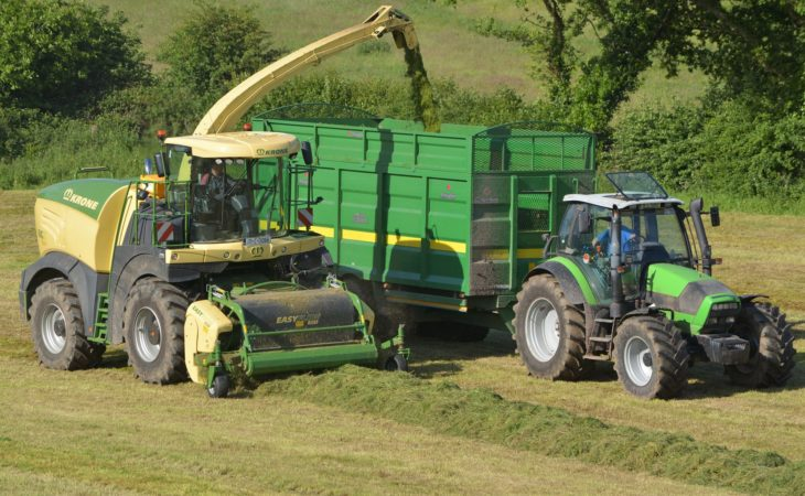 15 new Krone BiG X foragers to tackle 2018 Irish silage campaign