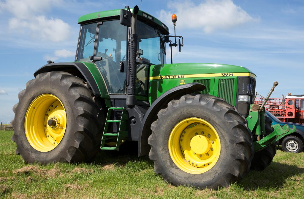 see the 16yearold john deere 7710 that sold for almost £