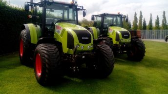 13 thefts of GPS from tractors recorded over the weekend
