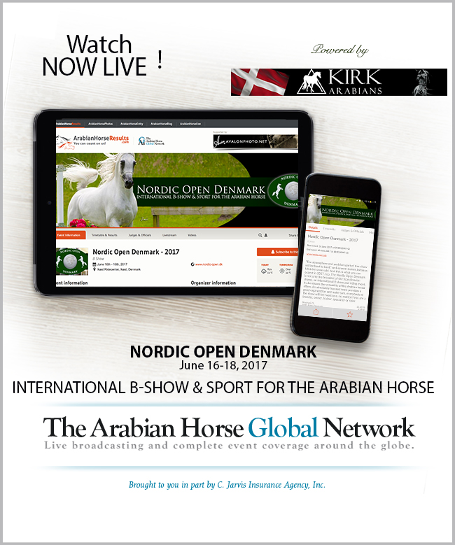 Watch LIVE - Nordic Open - Powered by Kirk Arabians