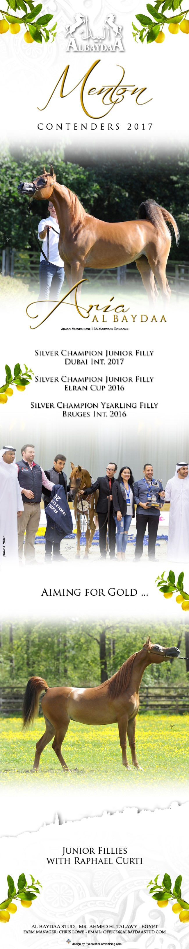 Aria Al Baydaa - 2017 Menton contender with Raphael Curti