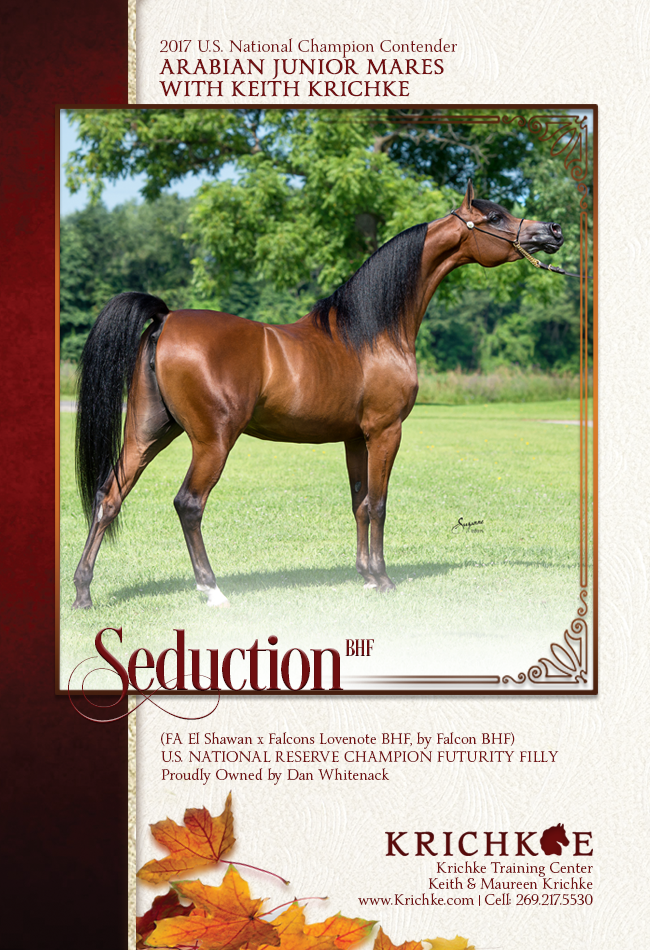 Seduction BHF is Ready for Roses! Junior Mares with Keith Krichke