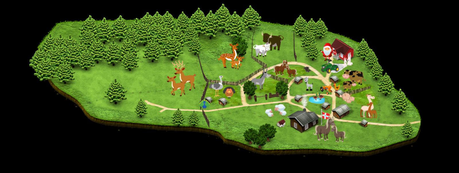 hunderfossen kart Kart over gården | Barnas Gård hunderfossen kart