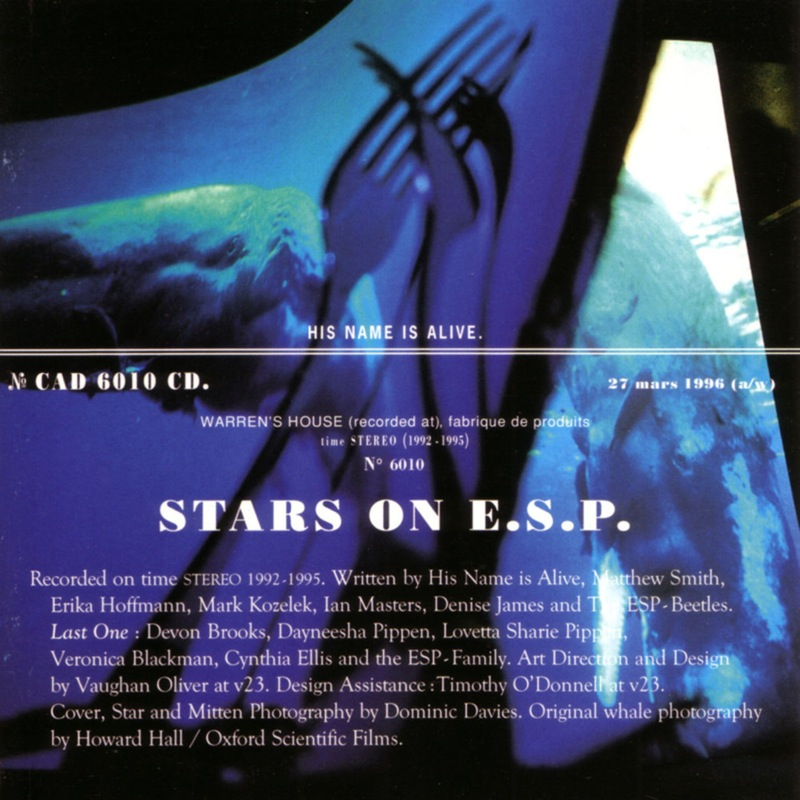 His Name Is Alive Stars On E.S.P.