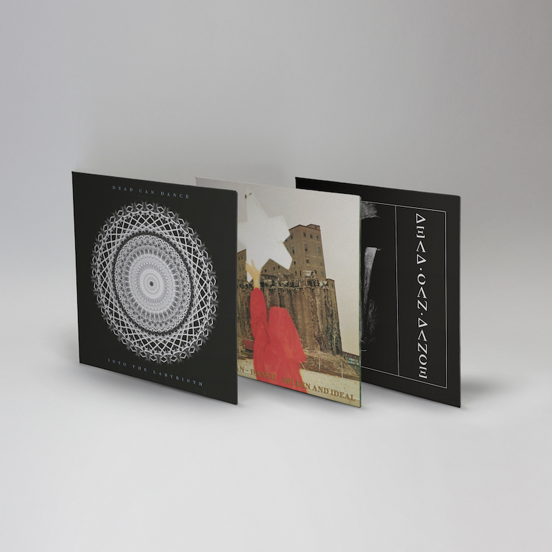 Dead Can Dance 3 LP Bundle - Dead Can Dance / Spleen And Ideal / Into The Labyrinth