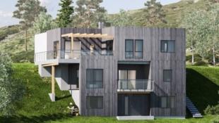 Løkenåsen - Moderne eneboliger med terrasse, hybel, garasje og panoramautsikt!