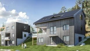 Løkenåsen - Moderne enebolig med terrasse, hybel, garasje og panoramautsikt!