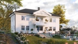 BORGEN / KLØFTA // Lekker familiebolig over to fulle etasjer / 3 soverom / 2 bad / Vaskerom / Mulighet for tilvalg